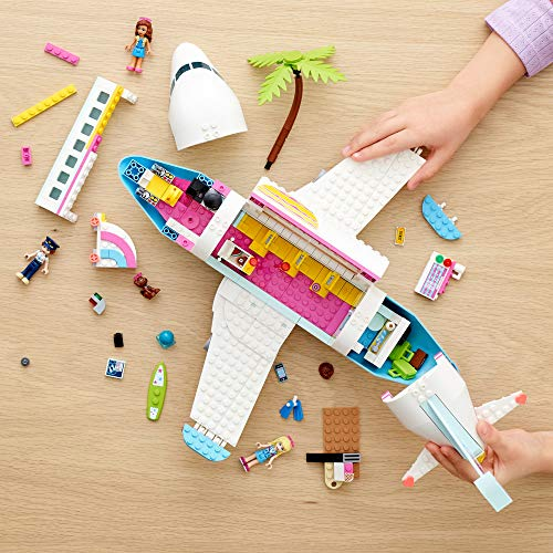 LEGO Friends Heartlake City Airplane 41429, Includes Friends Stephanie and Olivia, and Lots of Fun Airplane Accessories…
