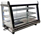 Omcan 39999 Commercial Restaurant 35 inch Hot Display Showcase food WARMER