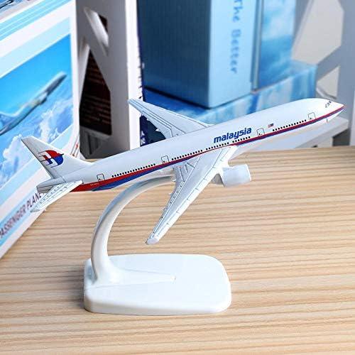 16 cmマレーシアボーイング777航空機モデル亜鉛合金航空機モデルB777航空機1:400