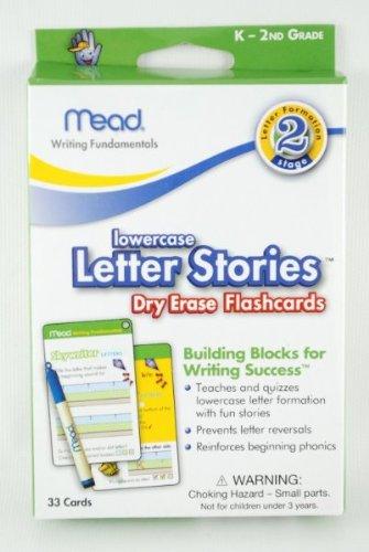Dry Erase Flashcard 33 Pack- Letter (K-2Nd) 192 pcs sku# 1227957MA by DDI