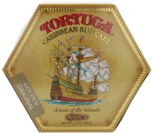 Tortuga Caribbean Rum Cake, Golden Original, 32-Ounce (Golden Rum)