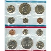 1976 P&D Bicentennial Mint en el paquete original de U.S. Govt 12-Coins.