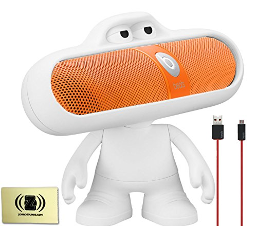 Beats by Dr. Dre Pill Portable Speaker (Neon Orange) Bundle with Beats...