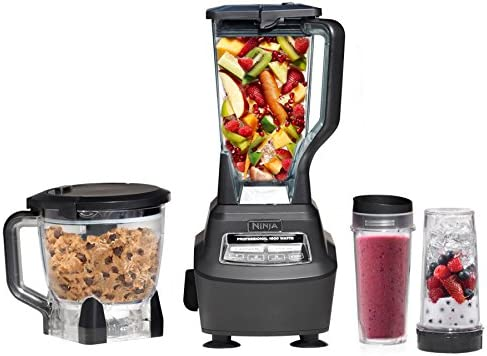 Ninja Mega Kitchen System (BL770) Blender/Food Processor with 1500W Auto-iQ Base, 72oz Pitcher, 64oz Processor Bowl, (2) 16oz Cup for Smoothies, Dough & More 51U2RFBCh2L