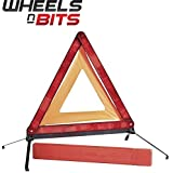 Car Vehicle Emergency Breakdown Warning Sign Triangle Reflective Road Safety foldable Reflective Road Safety red WEIWEITOE