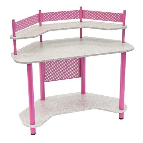 Calico Designs 55122 Study Corner Desk, (Contemporary Desk Accessories)