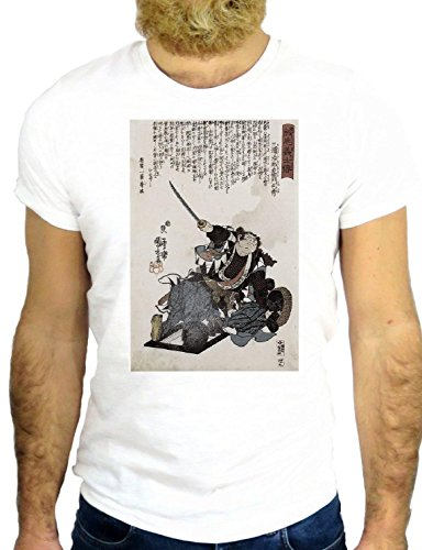 T SHIRT JODE Z1838 JAPAN MANGA CARTOON LADY FUNNY COOL FASHION NICE GGG24 BIANCA - WHITE XL