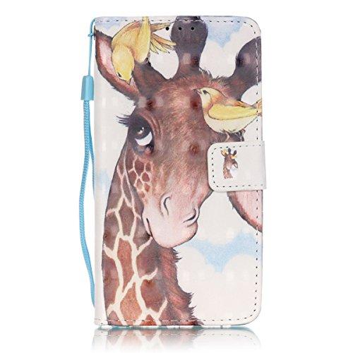 Funda para iPhone 5 5S SE , ANNNWZZD Flip Cover Tapa de Cuero de La PU Case de la Cartera con Ranuras para Tarjetas Incorporadas para iPhone 5 5S SE Smartphone Case,A11 A11