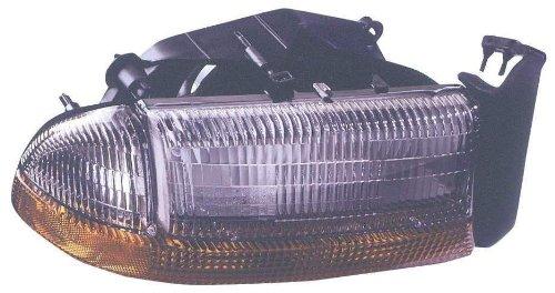 Depo 333-1130R-ASC Dodge Dakota/Durango Passenger Side Replacement Headlight Assembly with Corner Light
