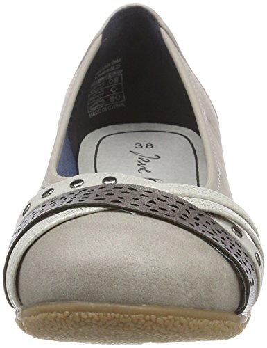 Jane Klain221 899 - Bailarinas Mujer Grau _203 (Grey)