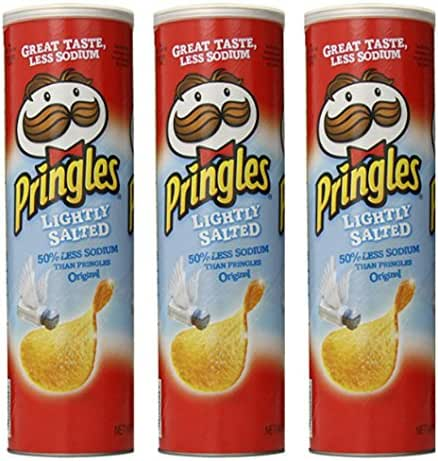 Potato Chips: Pringles Lightly Salted