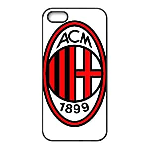 Ac Milan iPhone5s Cell Phone Case Black gife pp001_9329209