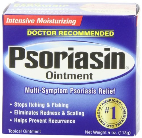 Psoriasin Multi-Symptom Relief psoriasis Pommade, Intensif Hydratant, 4 onces (Pack de 2)