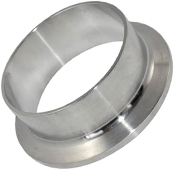 Diameter 51MM 2 Weld Pipe with 64MM Ferrule Flange fits 2 Tri Clamp Stainless Steel 316 SS316 Sanitary Fitting