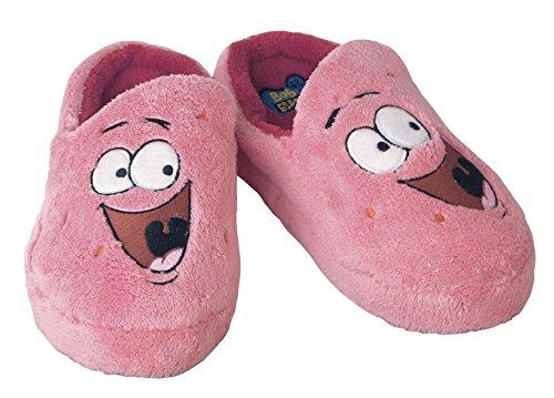 Spongebob Hausschuhe Patrick / Slipper aus Plüsch in Kindergröße