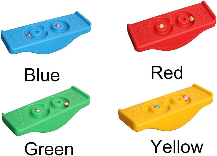 Childrens Sports Toys,Balance Board Children Exercise Sensory Play Sport Outside Rocking Seesaw