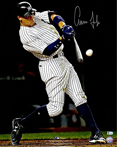 "Aaron Judge New York Yankees Autographed 16"" x 20"" Hitting Home Run Photograph - Fanatics Authentic Certified by..."