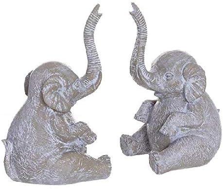 f/ür Erwachsene Mehrfarbig Dcasa Elefanten Buchst/ützen f/ür Kinder Unisex Wanddekoration Mehrfarbig einzigartig