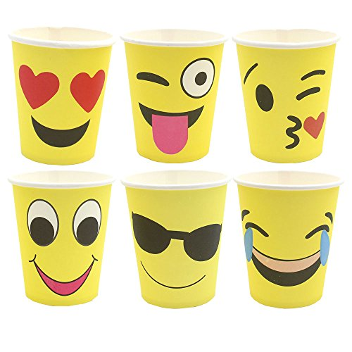 Zicome Set of 60 Party Paper Cups, 9 Ounce