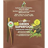 Amazing Grass Organic Chocolate Green Superfood Whole Food Nutrition Bar, 12 Count