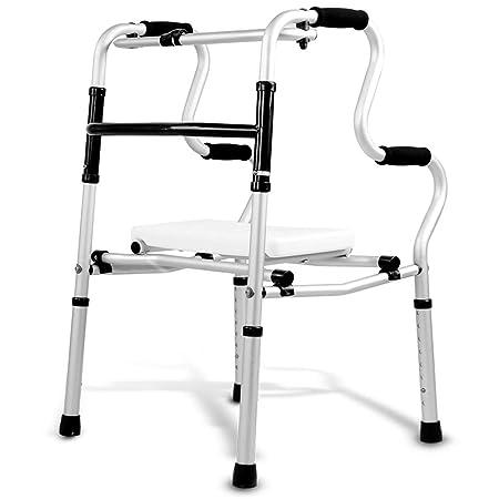 Andadores Chunlan Bastidor Plegable para Caminar, Aluminio ...