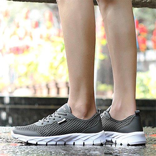 JIANXI ランニングシューズ メンズ スニーカー レディース ウォーキング スポーツ カジュアル クッション性 通気 軽量 運動靴 男女通用
