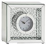 Classy Mirror Table Clock