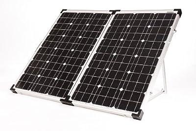 Go Power! GP-PSK-120 120W Portable Folding Solar Kit with 10 Amp Solar Controller