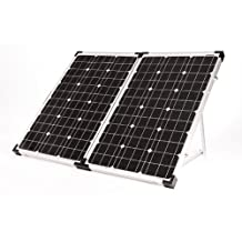 Go Power! GP-PSK-120 120-Watt Portable Folding Solar Kit with 10 Amp Solar Controller