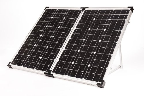 Go Power! GP-PSK-120 120W Portable Folding Solar Kit with 10 Amp Solar Controller by Go Power!