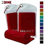 Best Cooling Towels - Balhvit 2 Pack Cooling Towel, Ice Towel, Microfiber Review