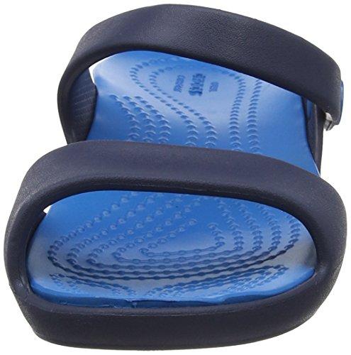 Women Femme navy Ouvert ultramarine Cleo Crocs Bleu V Bout Sandales xw6RxnYEq