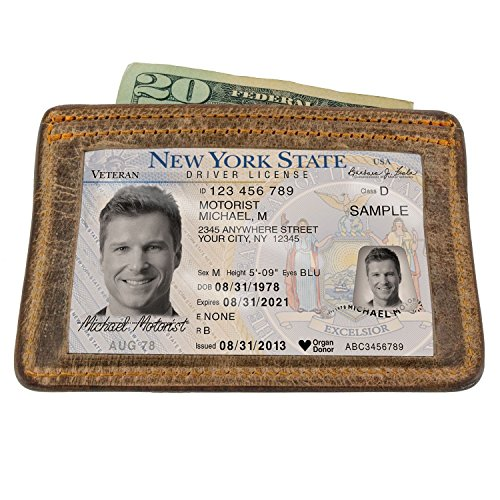 Hanks Belts Three Tier Wallet - Vintage Brown