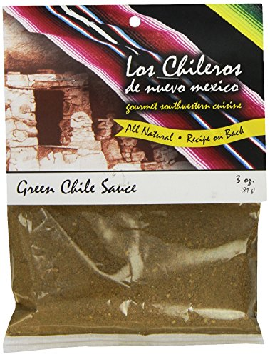 Los Chileros Green Chile Sauce, 3 Ounce ()