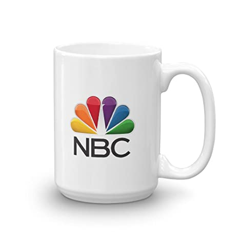 Amazon.com: NBC taza, color blanco, Blanco: Kitchen & Dining