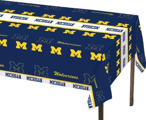 Creative Converting Michigan Wolverines Plastic