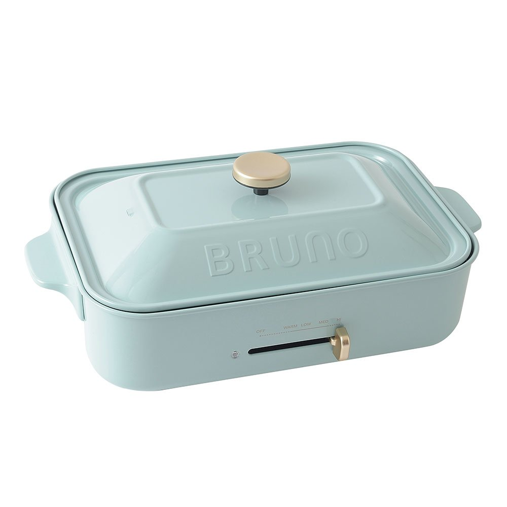 BRUNO compact hot plate BOE021-BGY Blue-gray(Japan Domestic genuine products)