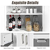 Giantex Rolling Kitchen Island Cart with Spice