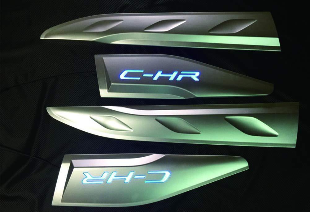 Senza LED Autohelper Coperchio del corpo della porta laterale LED Accessori per CHR C-HR 2018