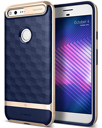 Caseology [Parallax Series] Google Pixel XL Case - [Award Winning Design] - Navy Blue