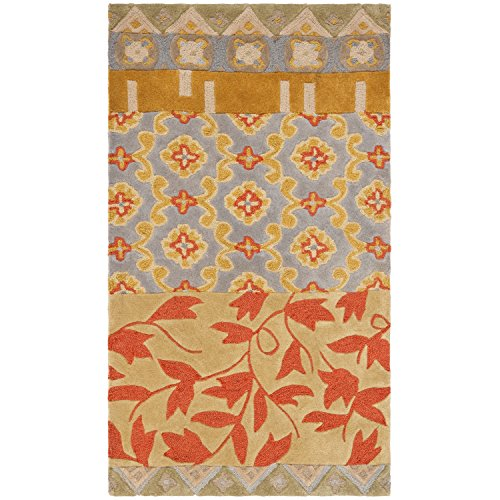 Safavieh Rodeo Drive Collection RD622M Handmade Multicolored Wool Area Rug (2' x - Drive Rodeo Collection