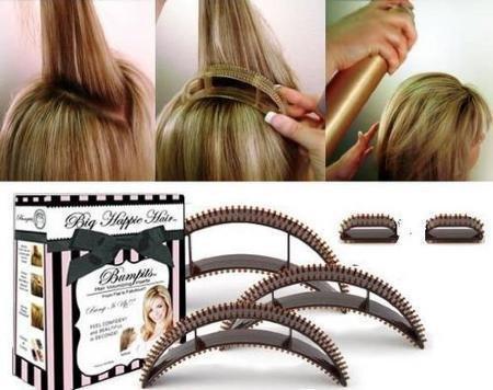 Bump it accessoire volume cheveux Inserts Brun Amazon.fr Hygiène et Soins du corps