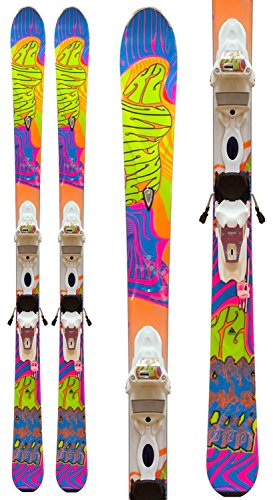 K2 Superfree LTP 70's 50th Anniversary Skis w/ Marker Bindings Youth