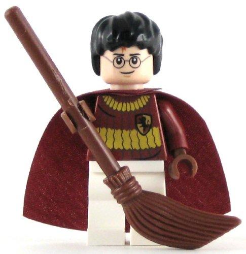 LEGO Harry Potter Minifig Harry Potter Dark Red Quidditch Uniform (Harry Potter Quidditch Uniform)