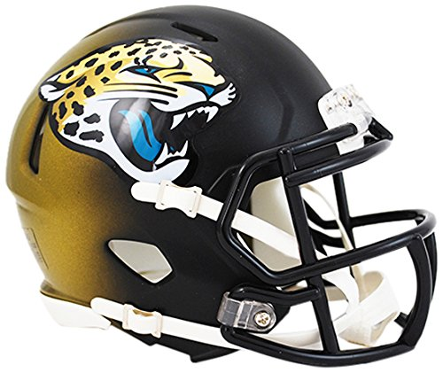 Riddell Revolution Mini Helmet (Riddell Revolution Speed Mini Helmet - Jacksonville Jaguars)