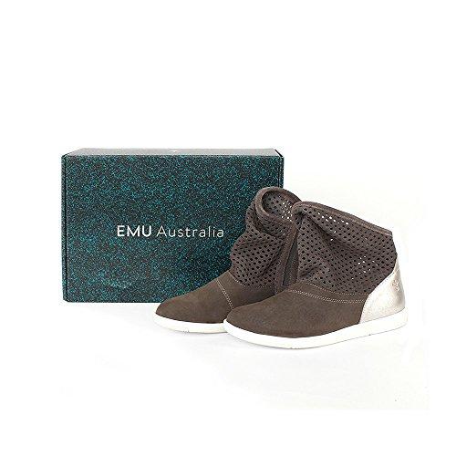 EMU Emu-w11071-chocoral - Botas de Piel para mujer marrón marrón marrón