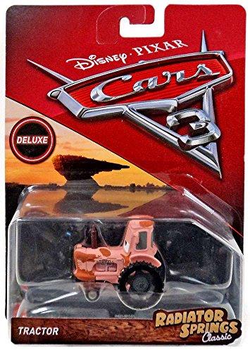Disney/Pixar Cars 3 Radiator Springs Classic Deluxe Tractor Die-Cast Vehicle (Tractor Toy Diecast)