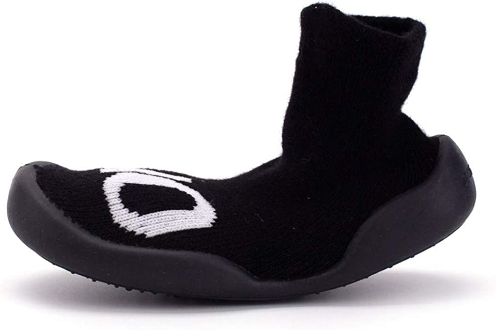 Pandaie Baby Boy /& Girl Shoes Baby Infant Toddler Girls Boys Warm Letter Prewalker/Socks Casual Shoes
