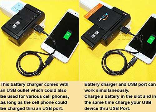 [LG Stylo 3 LS777 Battery] AceSoft 2X 3400mAh Excellent Battery Intelligent  Dock Home Rapid Charger Micro USB Cable Stylus for LG Stylo 3 LS777