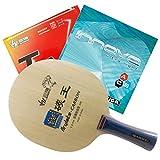 Table Tennis Racket Sanwei F3 FL Handle + Sanwei T88-I + Stiga Innova Ultra Light Rubber